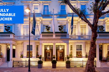 £259 -- London: 'sophisticated' 5-star stay w/meals, 42% off