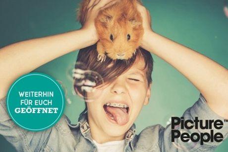 HAUSTIER-Fotoshooting bei PicturePeople inkl. Make-up und 3-4 Bildern als Ausdruck & Datei (bis zu 76% sparen*)