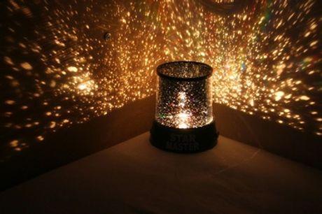 1 o 2 proyectores nocturnos de estrellas