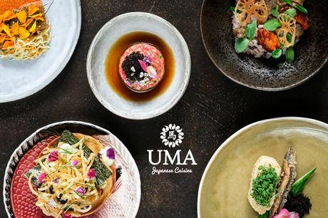 UMA: Full Experience m. 8 serveringer. I hjertet af KBH: Simpelt, smukt og fantastisk lækkert