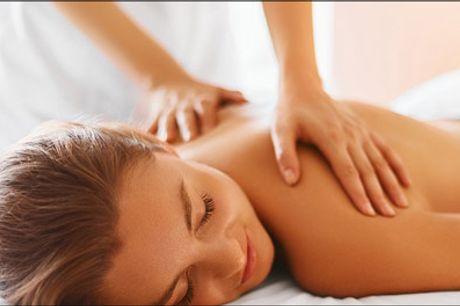 Massage i hyggelige lokaler med afslappende musik! - Køb 35 min. mini massage hos J Beauty Wellness, værdi kr. 325,- Vi håber du vil få en god oplevelse!