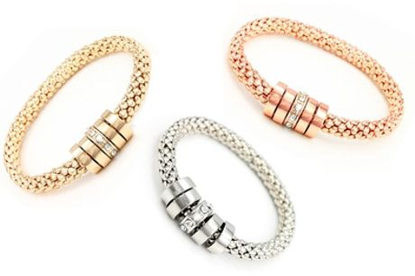 One, Two or Three Onyx Bracelets made with Crystals from Swarovski®