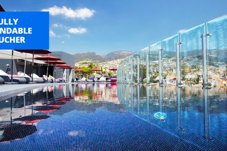 £429pp -- Award-winning luxury Madeira hotel: 5 nts w/meals