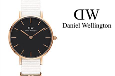 Daniel Wellington® Relógio Classic Petite Dover 28 mm - DW00100314 por 69.30€ PORTES INCLUÍDOS