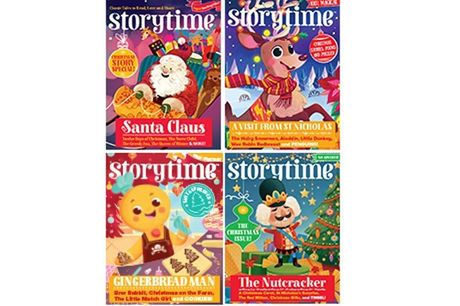 £19.99 instead of £41.98 for a story bundle from Storytime Magazine including a 12-month subscription and two bonus issues - save 52%