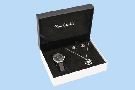 Pierre Cardin sieradenset Perfecte cadeau voor Kerst!<br /> Trendy, modieus én tijdloos<br /> In een luxe cadeauverpakking
