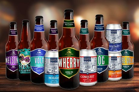 £19.95 for a mixed case of 12 beers from Woodforde's Brewery - enjoy a selection of premium bottled and canned beer and save 51%
