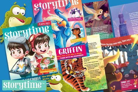 £10.99 instead of £24.98 for a story bundle from Storytime Magazine including a six-month subscription with one issue per month, one special edition festive issue and a letter from Santa - save 56%