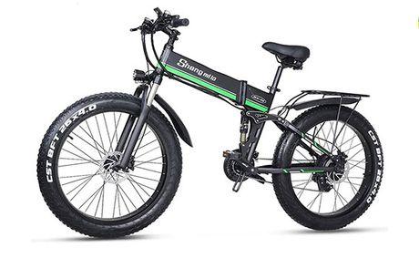 Top moderne elektrisk mountainbike - 1000W motor - 90 km rækkevidde