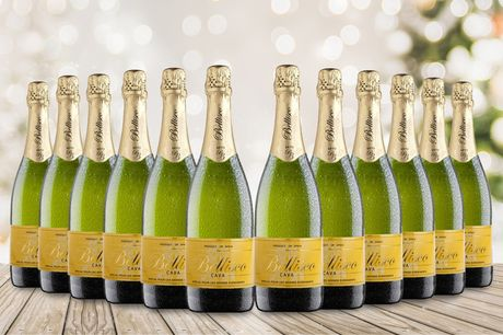 £75 instead of £121.80 for a 12-bottle case of Cava from San Jamón - save 38%