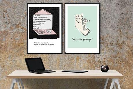 As ilustrações A4 da Clara Não são perfeitas para decorar a sua casa. Abordando assuntos como o feminismo, igualdade e amor, nestas ilustrações irá encontrar uma visão irónica e divertida de cada uma destas temáticas. Aproveite agora por 16,9€