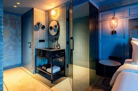 Hartje Amsterdam: tweepersoonskamer voor 2 met ontbijt en welkomstdrankje in 4* hotel The Highlander Hotel