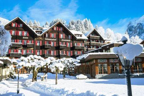 Svizzera Grindelwald - Romantik Hotel Schweizerhof Grindelwald 5* a partire da € 178,00. Area benessere e cucina gourmet in 5*