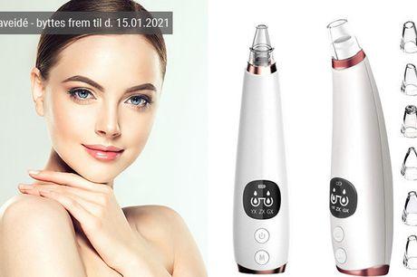Den forbedrede, genopladelige porerenser befrier huden fra urenheder og gør den glat og glødende - inkl. fri fragt