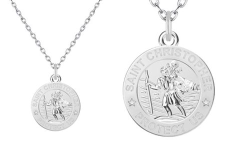 One or Two Philip Jones St. Christopher Necklaces