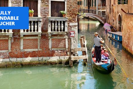 £79 -- Deluxe Venice stay w/wine & transfers, up to 51% off