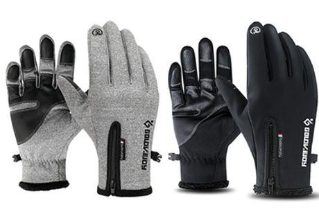 1 o 2 pares de guantes táctiles impermeables