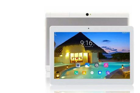From £69 instead of £299.99 (from Wishwhooshoffers) for a 10.1-inch Android 7 quad core tablet with a limited number available for £59 - choose from two models and save up to 80%