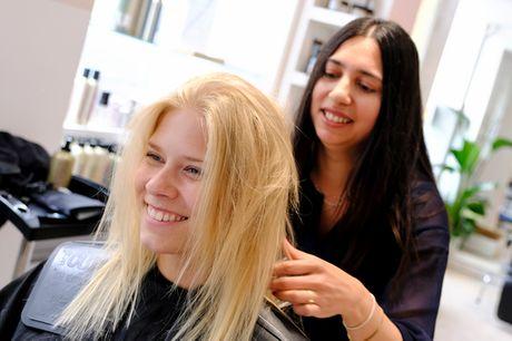 Øko-frisør i Vendersgade. Besøg en frisør i luksus-klassen til en usædvanlig god pris!