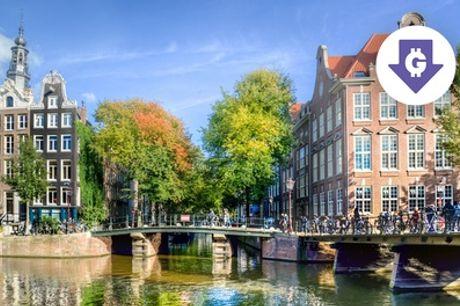 Hartje Amsterdam: standaard tweepersoonskamer incl. ontbijt, naar keuze driegangendiner in 4* Hotel Die Port van Cleve