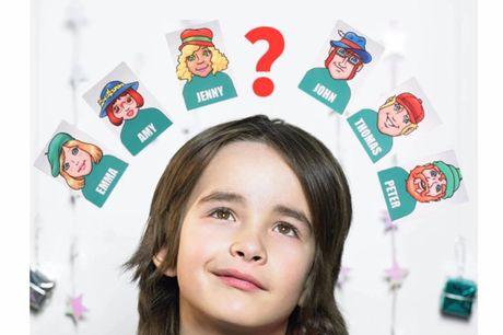 """""""Wer bin ich?"""" Familienbrettspiel. Traditionelles Familienbrettspiel. Spiel für 2 Spieler. Der erste Spieler, der 3 Spiele gewinnt, ist der Champion. Anleitung auf der Box. Geeignet für Kinder ab 3 Jahren."""