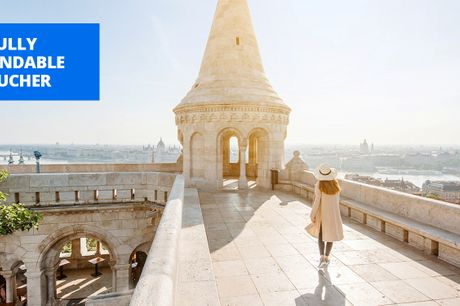 £55 -- Deluxe Budapest hotel: stay into Dec, 2021, save 63%