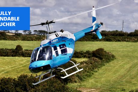 £78.50 -- Helicopter city tour: 22 locations