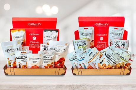 From £13 for a snack selection box from Mr Filbert's - pick from their moreish Movie Night or Work From Home ultimate selection boxes and save up to 35%