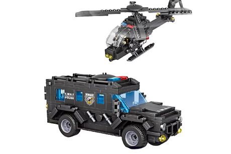 £22.99 instead of £59.99 for police SWAT brick vehicles from VendinPlus - save 62%