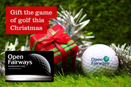 £19 instead of £44.50 for a six-month Open Fairways membership, or £29 for a 12-month membership - enjoy savings at over 1100 golf courses worldwide - save up to 57%