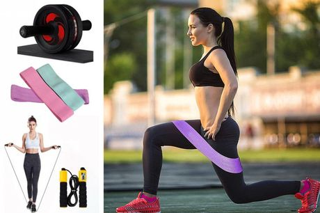 £21.99 instead of £29.99 for a 3 in 1 home fitness bundle and £19.99 for a 2 in 1 bundle from Wish Imports - save 50%