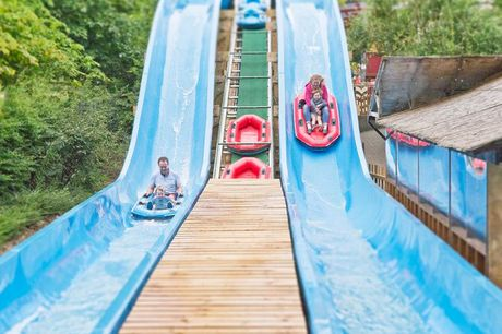 A stay & play at Gulliver's Land, Milton Keynes with overnight accommodation and theme park entry. From £139 for one-day entry for up to 4 people, from £159 for one-day entry for 6 people, or from £179 for two-day entry - save up to 65%