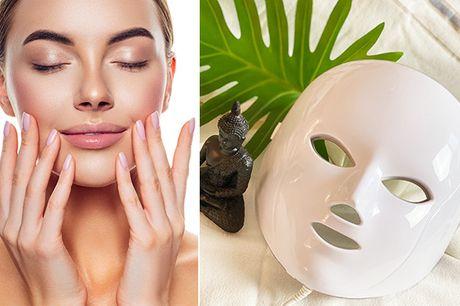 """Oplev, hvilken effekt """"Magic Light"""" har på din hud med denne lysterapimaske - inkl. fri fragt"""