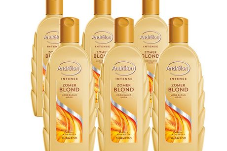 6x Andrelon Intense Shampoo | Blond