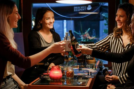200 kr. til Rævens Bar. Brætspil, drinks, en god kop kaffe, og ekstrem god stemning