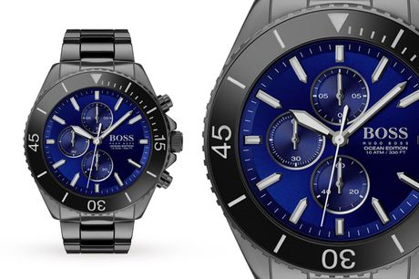 £149 instead of £499.99 for a Hugo Boss Ocean Edition Rare men's watch HB1513743 from Demand Tic – save 70%