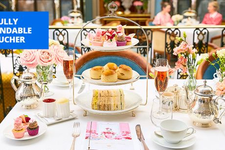 £106 -- Champagne afternoon tea for 2 at The Lanesborough