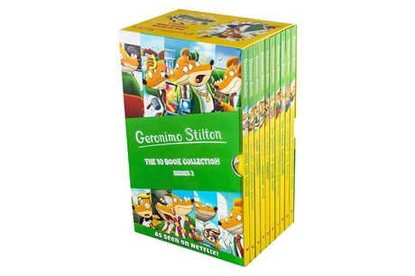 £24.95 instead of £49.90 for a kids' Geronimo Stilton 10 book collection from Snazal - save 50%