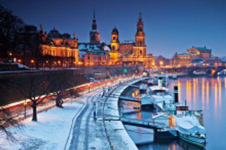 """Das Park Inn liegt in der """"Barockstadt"""" Dresden, einem Zentrum kultureller und wissenschaftlicher Innovation.. Dresden hatim Winter einenbesonderen Zauber"""