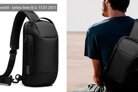 Denne smarte crossbody-taske gør det både nemt, moderigtigt og bekvemt at have alle nødvendighederne med på farten - inkl. fri fragt