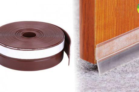 Vindtæt og isolerende tætningsliste til døre og vinduer