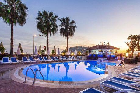 3-stjernet All Inclusive-ferie inkl. fly og en uges ferie i Alanya. 3-stjernet hotel i Alanya inkl. All Inclusive, 7 nætter og direkte fly fra KBH / BLL