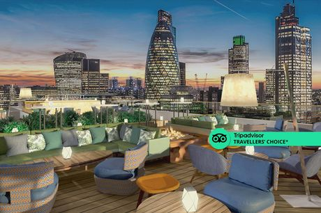 A London stay at 5* Montcalm Royal London House for two with breakfast, spa access, local area map and 1pm late check out. From £129 for an overnight stay - save up to 52%