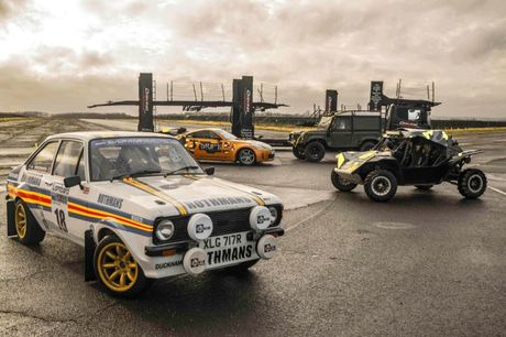 £149 for an ultimate adventure experience for one person at Everyman Racing, Leicestershire