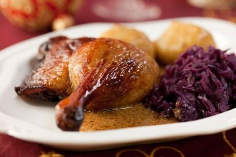Weihnachtliches 3-Gänge-Menü mit Entenkeule für 2 oder 4 Personen im Le Bon Coin (bis zu 33% sparen*)