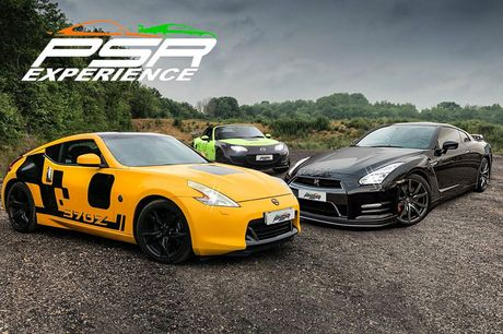 £19 for a one-lap Nissan GTR driving experience with PSR Experience, from £19 for a three-lap experience, £59 for three laps, £79 for three laps including a high speed passenger ride, from £99 for 12 laps - choose from 11 locations!