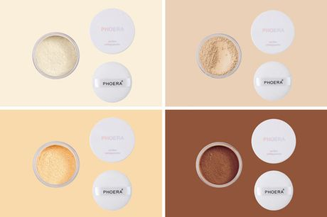 £4.50 instead of £9.99 for one Phoera No Filter setting powder or £7.99 for two setting powders in translucent, cool beige, banana or medium deep from Phoera - save up to 55%