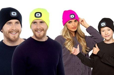 LED Beanie Hat for Men, Women and Kids