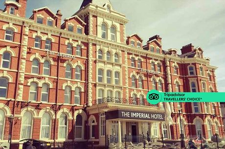 A Blackpool hotel stay at 4* The Imperial Hotel for two people with three-course dinner on first night, afternoon tea, breakfast and 1pm late check out. £199 for a two-night stay - save up to 45%