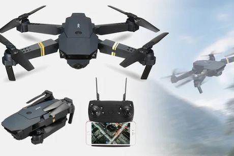 2020 Sammenklappelig drone med 4K, HD-kamera og WiFi-funktion